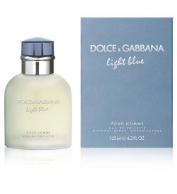 Dolce & Gabanna Light Blue Pour Homme EDT Spray 125ml