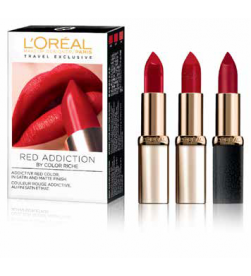 L'Oréal Trio Riche Red Addiction